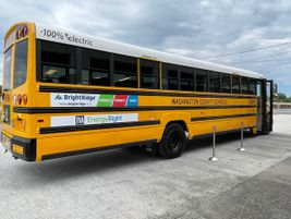 In Jonesborough, Tennessee, Washington County Schools unveiled its first LionC electric school...