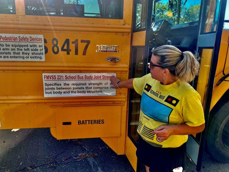 PHOTOS: Fair Day for Bus Safety in North Carolina