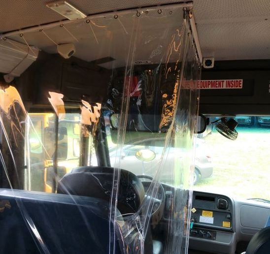 - Photo courtesy Bus Safety Solutions