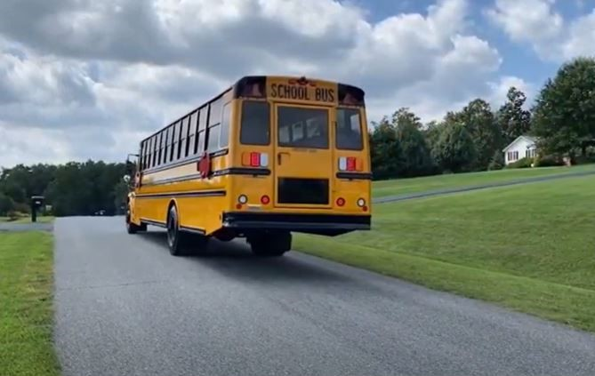 VIDEO: Virginia's First Jouley Electric School Bus Hits the Road