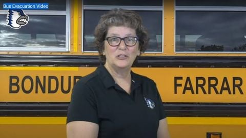 Bondurant Farrar Community School District Director of Transportation Mary Jo Hetrick covers...