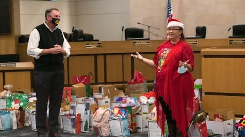 VIDEO: Texas District Hosts Christmas Toy Drive for Students