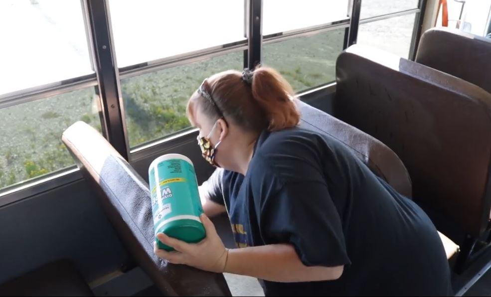 VIDEO: Arkansas District Spotlights COVID School Bus Safety Protocols