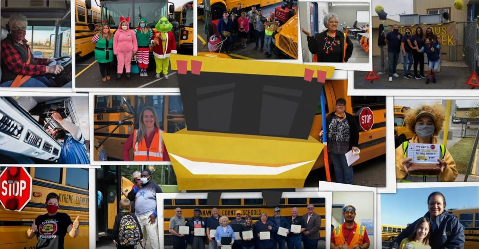 VIDEO: A 'Big Yellow Valentine' for Love the Bus