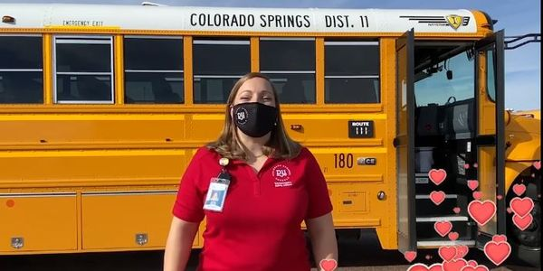 VIDEO: Colorado District Celebrates Love the Bus