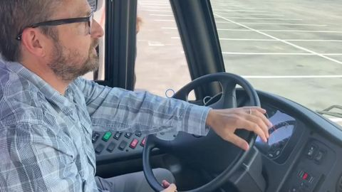 VIDEO: Jouley Electric School Bus Ride and Drive