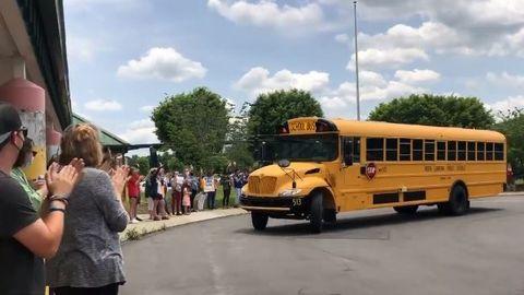 VIDEO: North Carolina School Honors Retiring Bus Driver