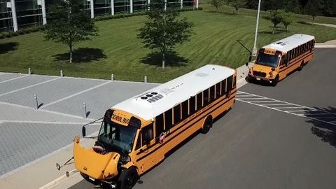 VIDEO: Virginia District Receives Electric School Buses
