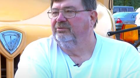 Bob Pendygraft is a bus driver for Jefferson County (Ky.) Public Schools.