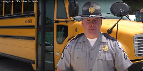 South Carolina Highway Patrol trooper Matt Southern narrates this school bus safety video.