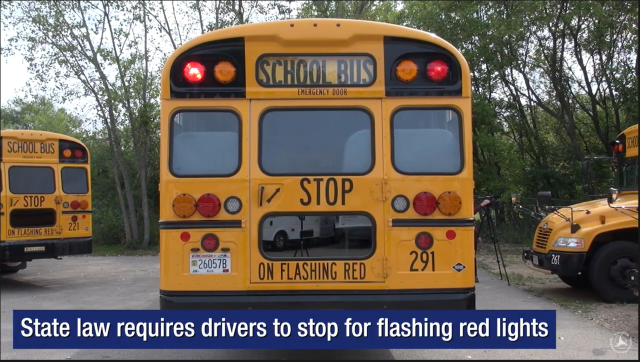 VIDEO: Wisconsin DOT Showcases School Bus Safety