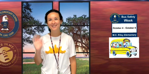 VIDEO: South Carolina School Stresses Bus Safety