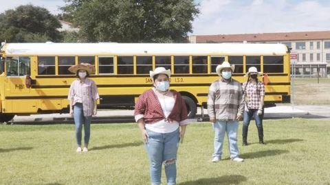 VIDEO: Texas District Celebrates School Bus Safety Week