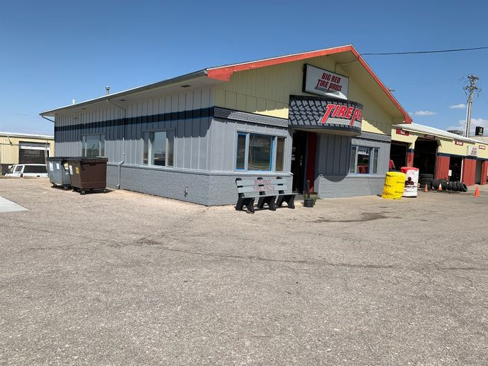 "The economic slowdown caused by COVID-19 might have made the paint refresh happen, but Lynda Kester says the last time Big Red Tire Pros repainted the building it saw a 25% spike in sales. ""People noticed."" -"