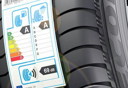 The label on tires sold in Europe is going to look different in the future. -