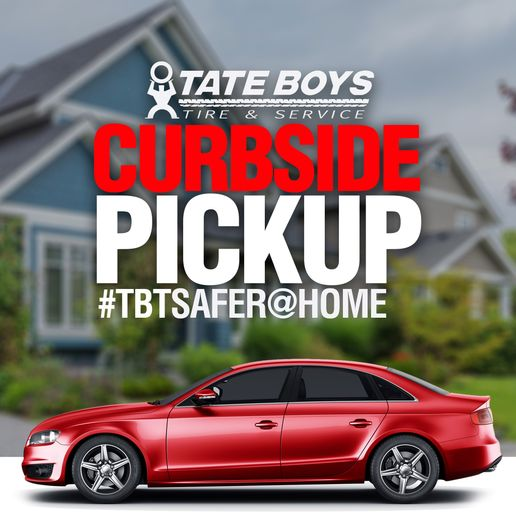 """Tate Boys Tire & Service is advertising its popular """"safer-at-home"""" program via social media and other outlets. -"""