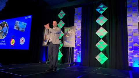 Walter Lybeck, CEO of Point S USA, told the meeting's 500-plus attendees that he expects the...
