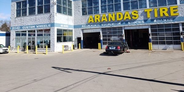 Many tire dealerships, like Arandas Tire & Service in Detroit, Mich., are offering pick-up and...