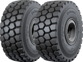 Continental Tires Approved for Use on Liebherr Machinery