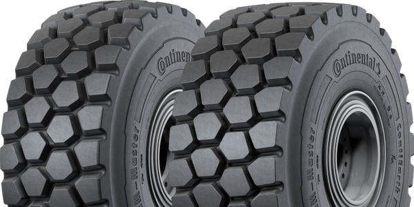 The Continental tires are available in sizes 20.5R25 to 29.5R25 on all Liebherr wheel loaders in...