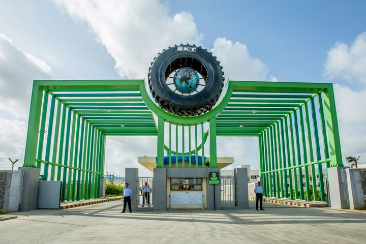 One month after Balkrishna Industries Ltd. reopened its five plants in India, the company is once again manufacturing tires at near maximum capacity. -