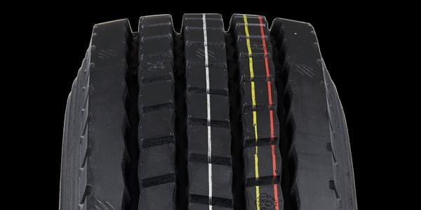 The three new Cosmo super-regional truck tires sport the brand's tiger head, paw print and claw...