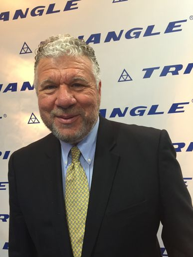"""The best thing we can do for our customers is have the product closer to them on the ground,"" says Triangle's Cicero. -"