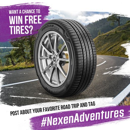 Nexen Tire America Inc. is calling for motorists to share their favorite road trip memories as part of the company's new #NexenAdventures sweepstakes. -