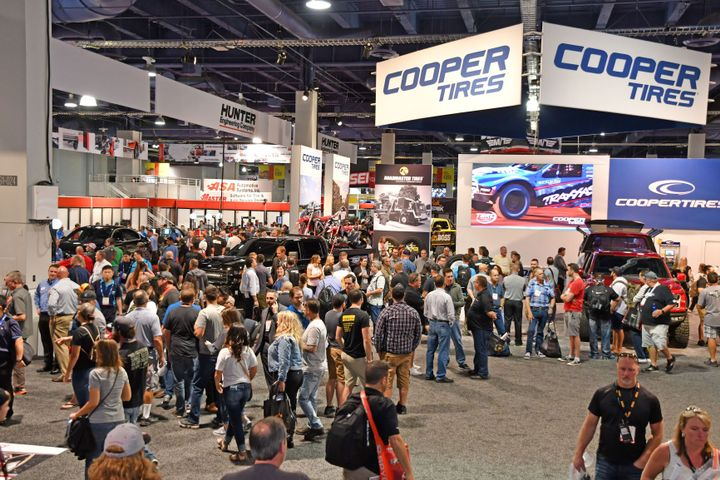 SEMA says the annual SEMA Show routinely attracts more than 161,000 people to its combined 2.2 million square feet of indoor and outdoor exhibit space. -