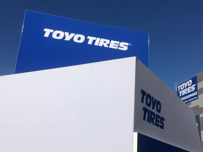 """Moving forward, Toyo officials say the tiremaker will manage its working capital """"in a timely and appropriate manner."""" -"""