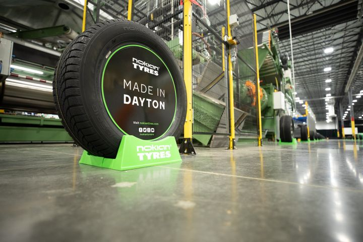 Nokian Tyres' plant in Tennessee opened last year. -