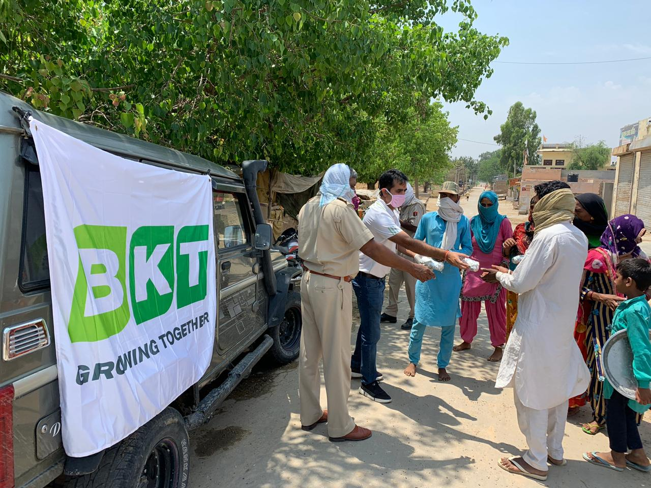 BKT Provides COVID-19 Support By 'Acting Together'