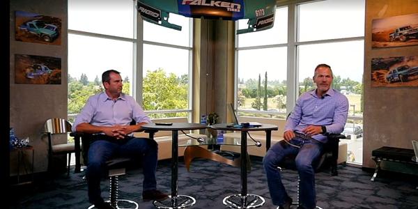 Matt Leeper, left, and Darren Thomas, right, kicked off the latest dealer forum from Sumitomo...