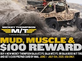Mickey Thompson Launches Summer Rewards Program