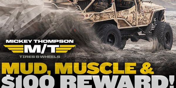 Mickey Thompson Performance Tires & Wheels is offering a $100 prepaid awards card to consumers...