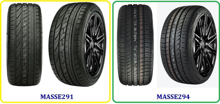 Nama's run-flat tires are offered in more than 80 sizes. -