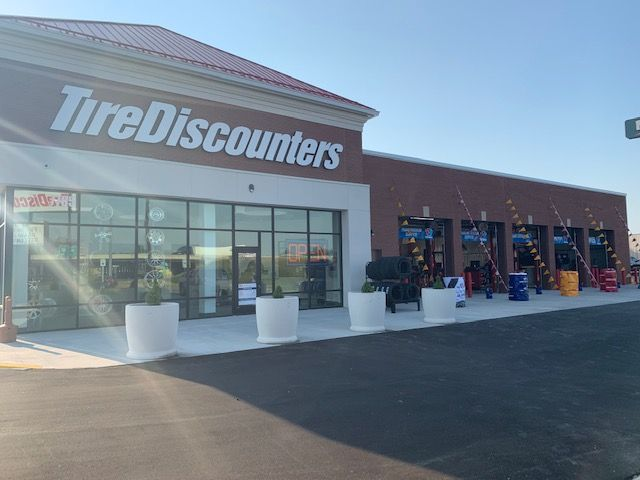 Tire Discounters has opened its ninth store in the Indianapolis market. -