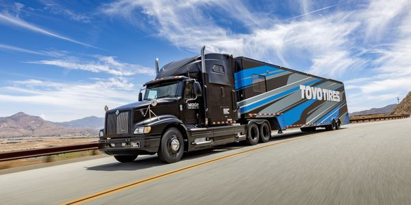 """""""Toyo has maintained regular production of all medium truck products and will be ready for the..."""