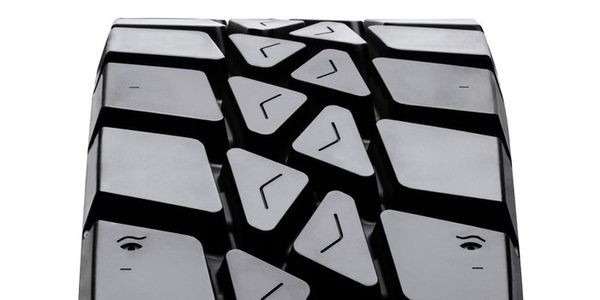 The new VT560 tread from Vpial is designed for severe service applications.