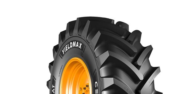 The new CEAT Yieldmax ag tire line has been engineered for combine applications.