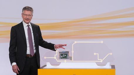 Continental CEO Elmar Degenhart talksabout how digital tools and services, including ADAS and digital tires, will help the company grow for the future. - Continental