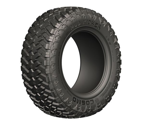 The Cosmo Mud Kicker is available in 12 sizes from TGI. - TGI