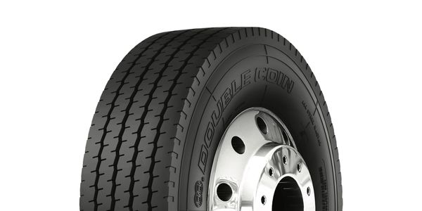 The Double Coin RR202 is a five-rib highway service tire.