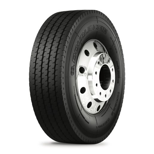 The Double Coin RR202 is a five-rib highway service tire. -