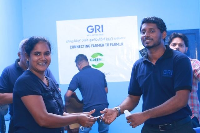 GRI has opened a center to support and educate rubber tree farmers in Sri Lanka. -
