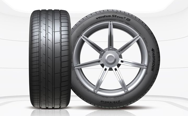 The development of these tires for Porsche required advancements in removing more tire noise, and also developing a balanced vulcanization process for the compound. -