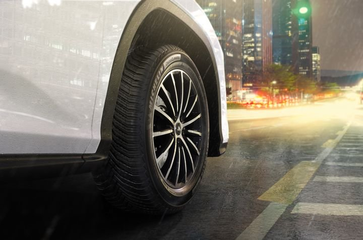 "Michelin North America Chairman and President Alexis Garcin says the new CrossClimate 2 is the company's ""most versatile and advanced"" passenger tire. -"