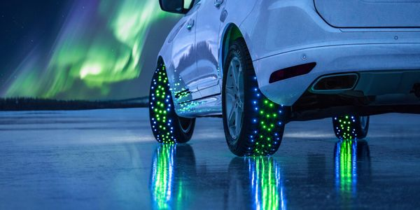 """Smart"" tires will be increasingly common on electric cars, according to Nokian."