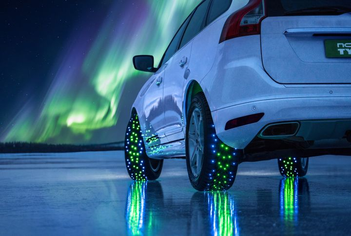"""Smart"" tires will be increasingly common on electric cars, according to Nokian. -"