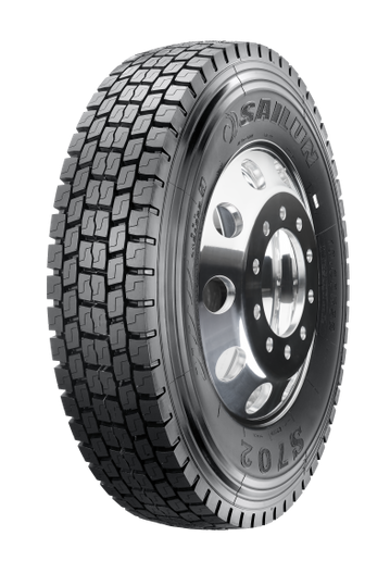 The new Sailun S702 truck tire is available in three sizes: 265/70R19.5, 285/70R19.5 and 315/80R22.5. -